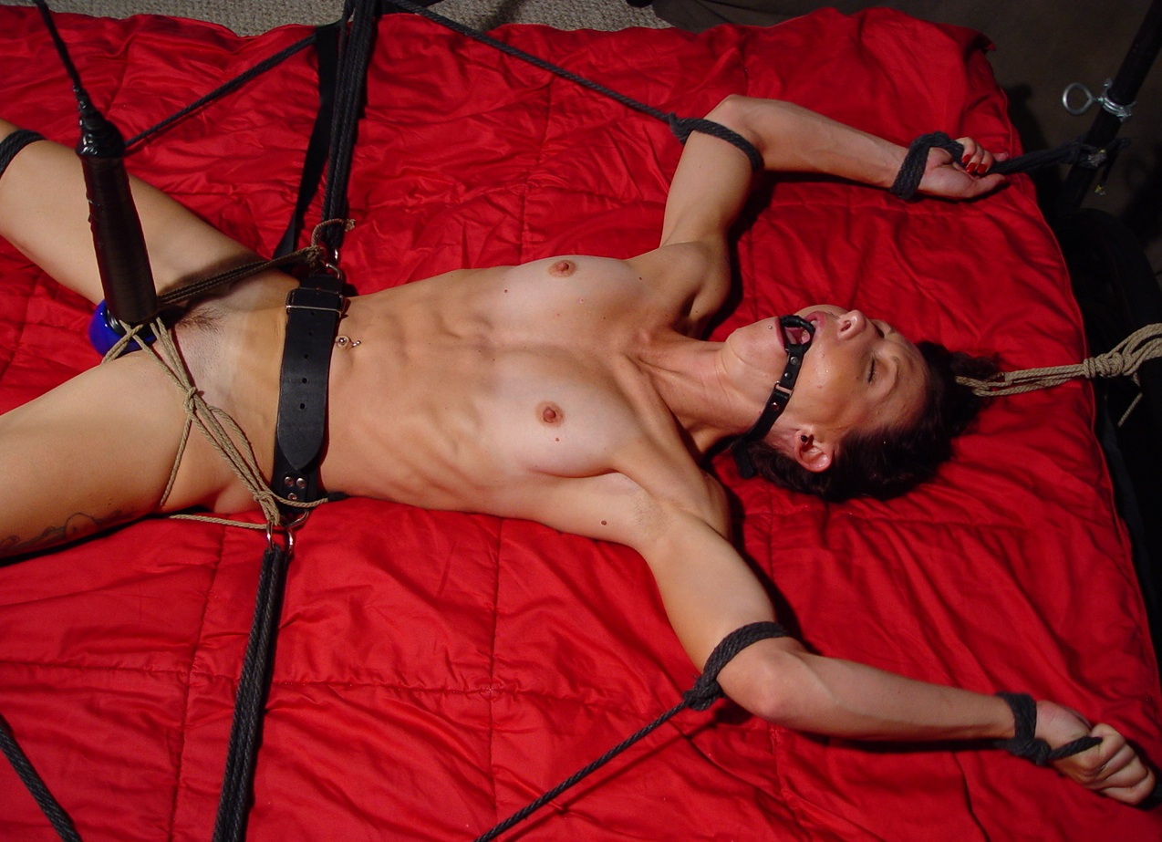 Whipping on the inversion rack - 2 part 2