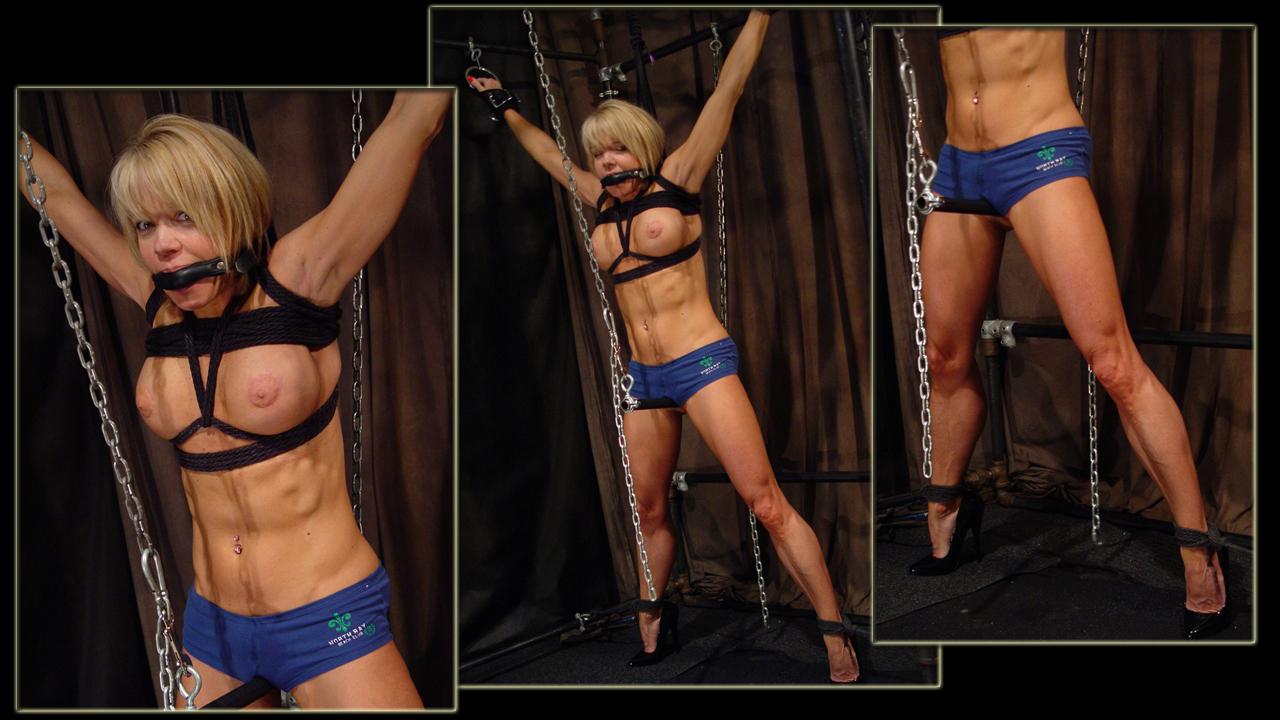 muscle girl bondage